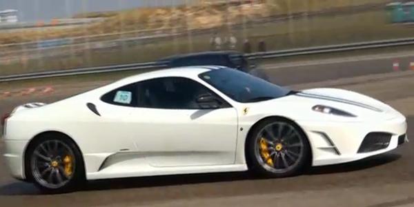 Ferrari-430-Scuderia-Drifting!!-Lovely-Sounds
