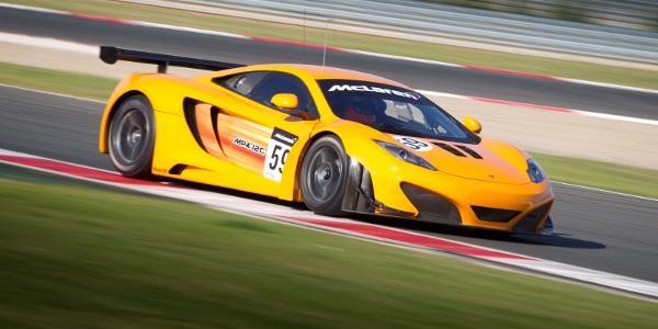 McLaren MP4-12C GT3 Navarra Test June 2011