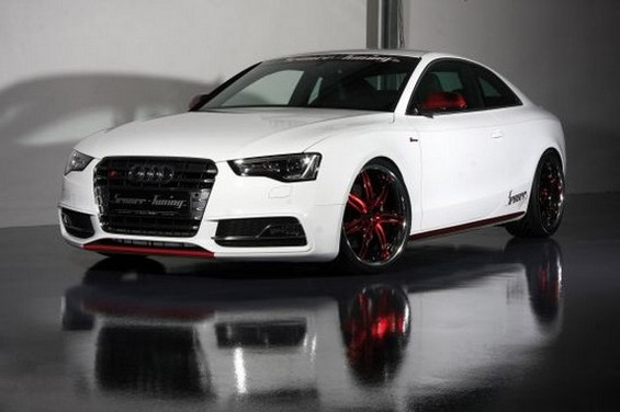 senner tuning l 39 attaque sur le coup audi s5 speedfans. Black Bedroom Furniture Sets. Home Design Ideas