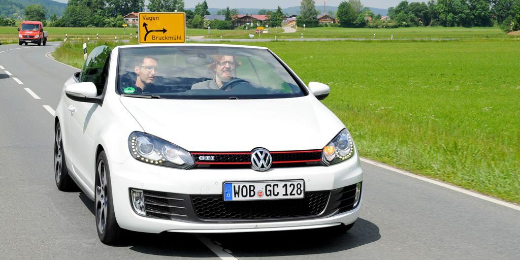 VW Golf GTI Cabriolet panneau