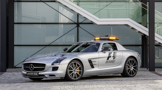 SLS GT3 Safety Car