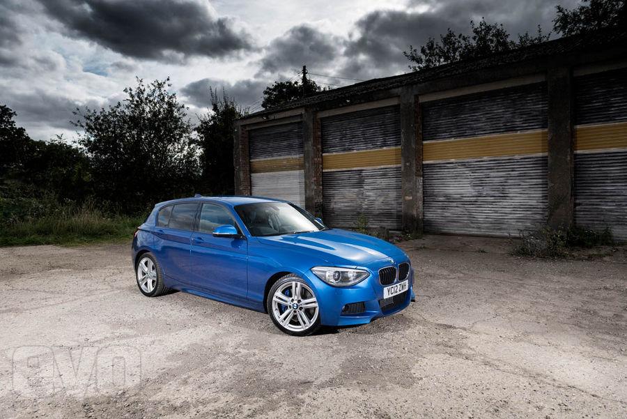 BMW 125i M Sport front