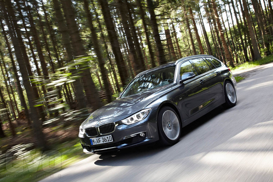 BMW 328i Touring Front