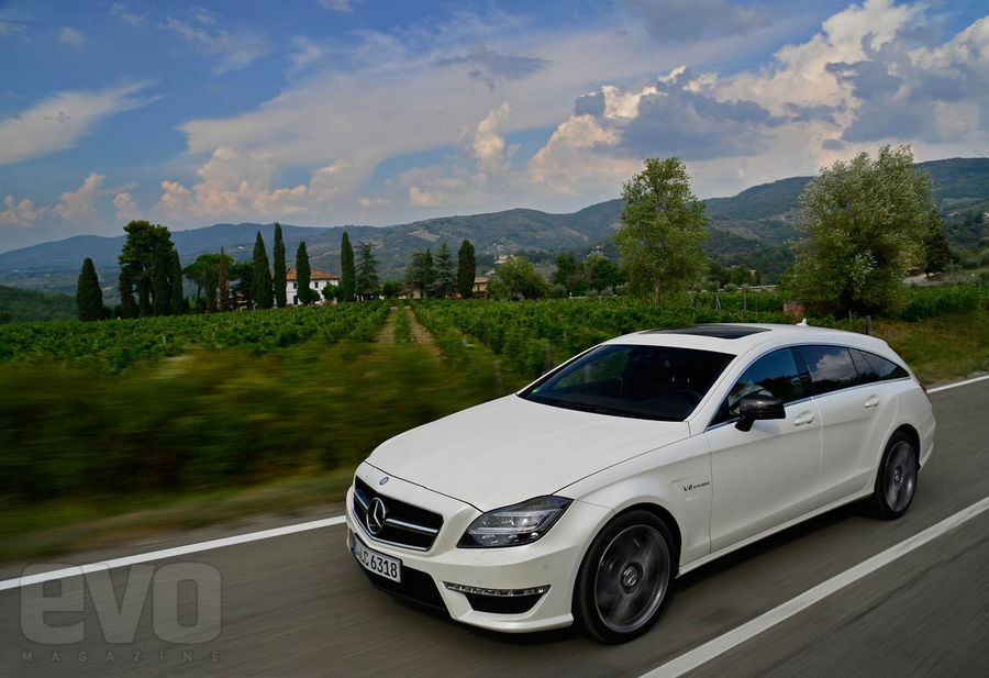 Mercedes CLS 63 AMG Shooting Break front