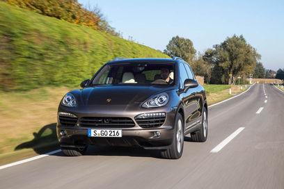 Porsche Cayenne S diesel front