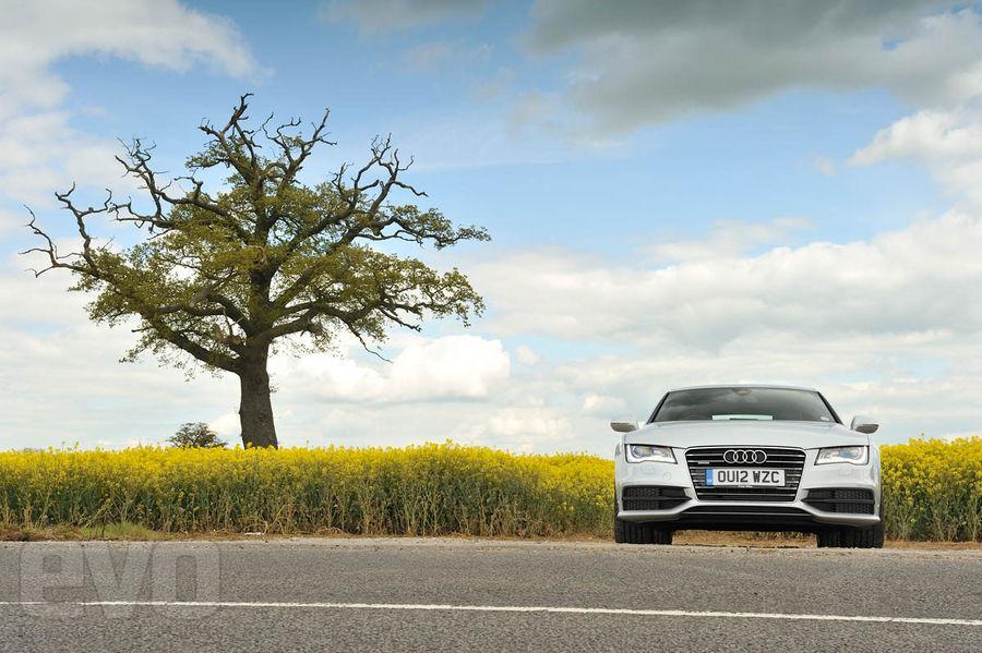 Audi A7 BiTDI S Line front