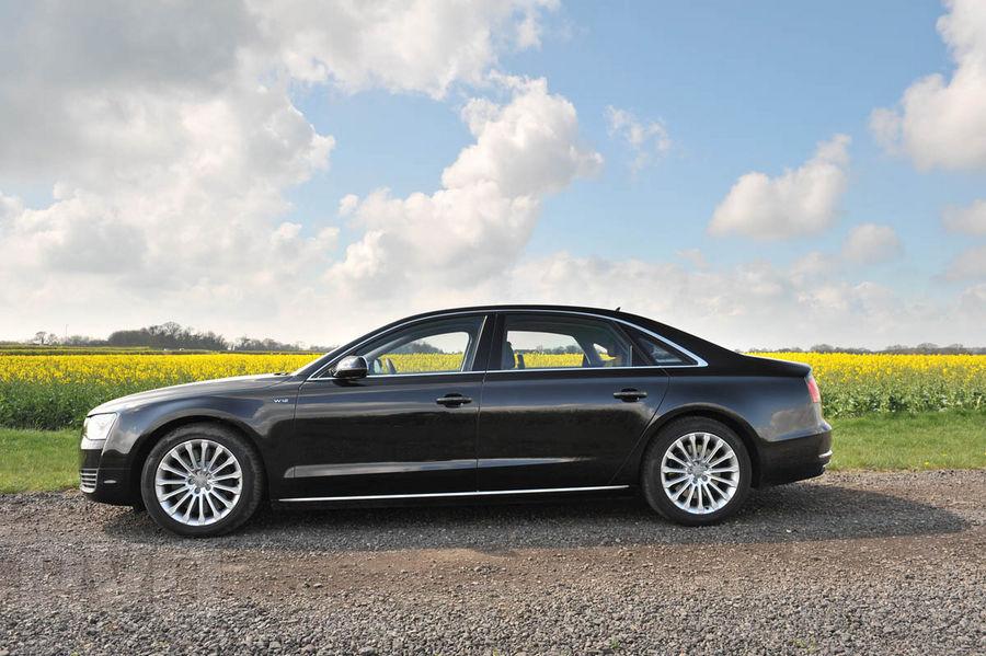 Audi A8 l W12 side