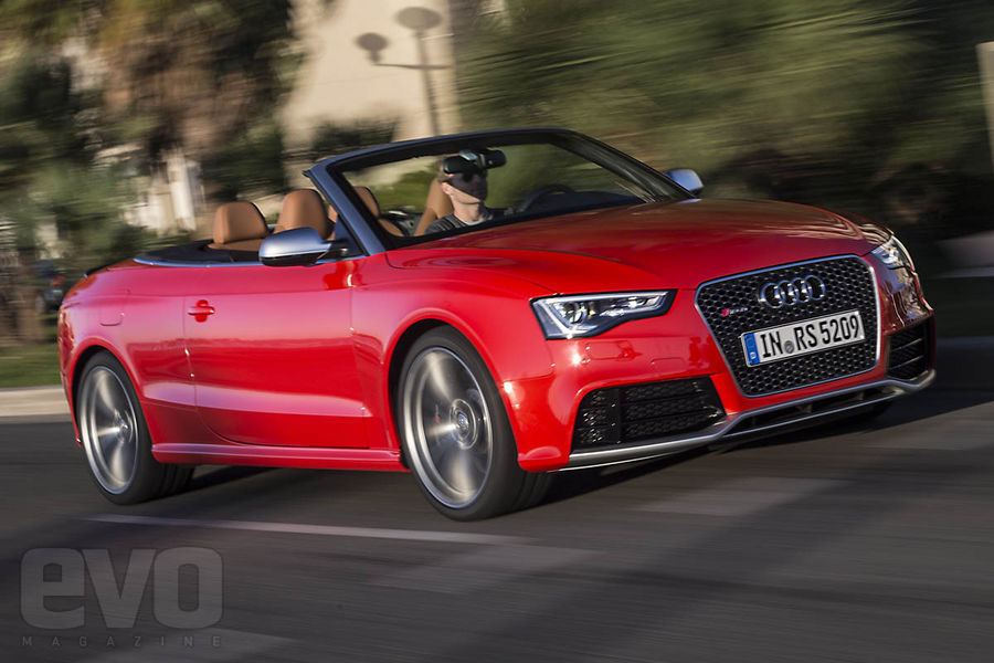 Audi RS5 cabriolet front