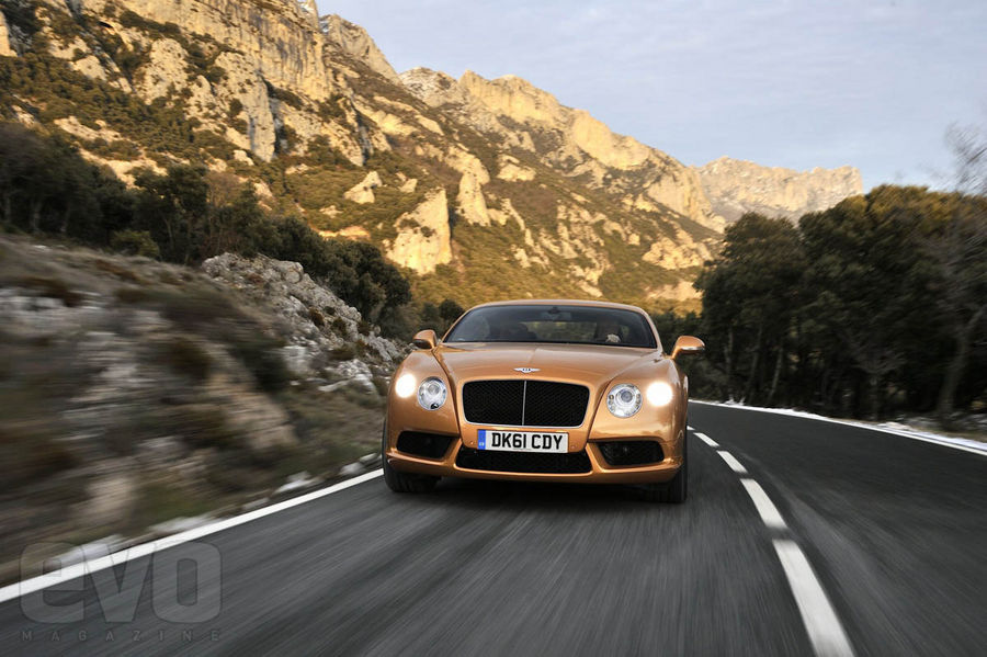 Bentley Continental GT V8 front