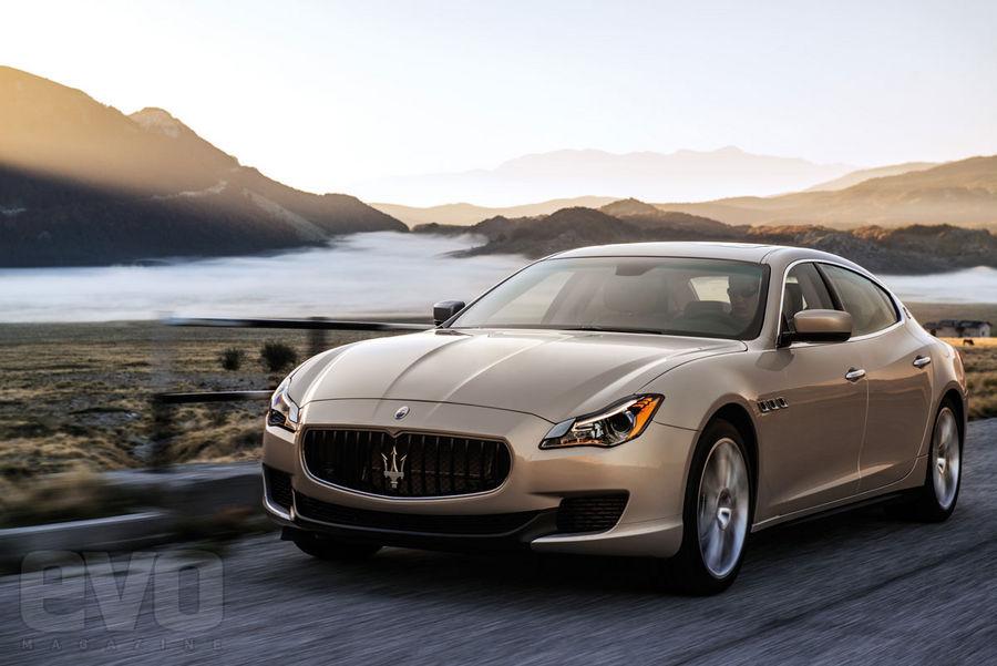 Maserati Quattroporte front1