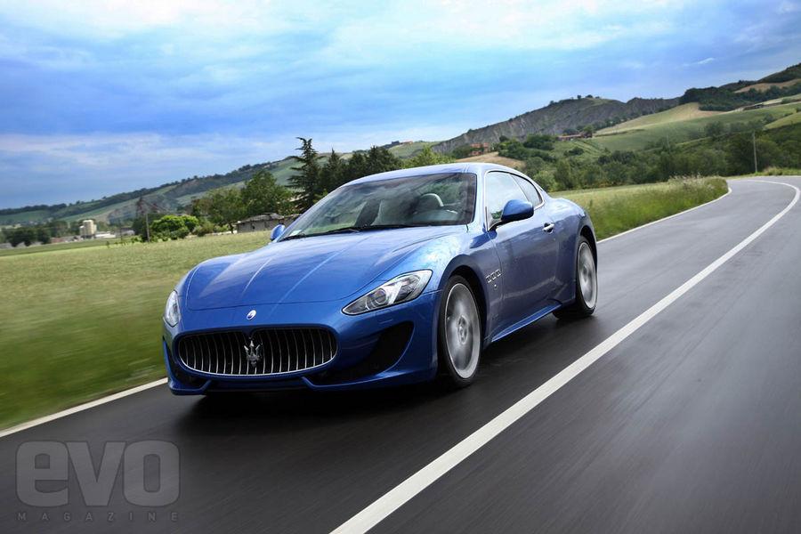 Maserati granTurismo Sport front