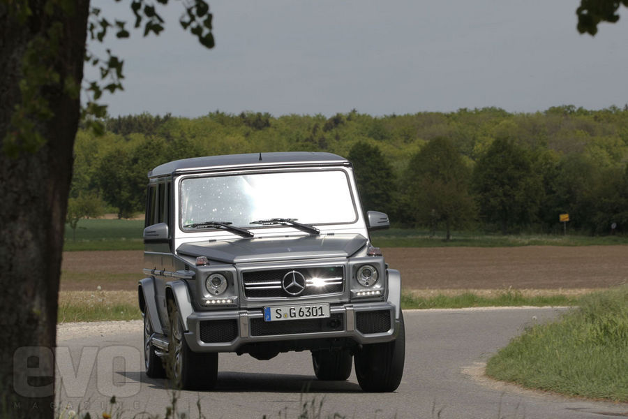 Mercedes G63 AMG front