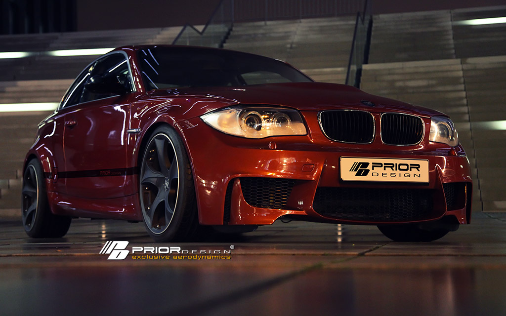 23 BMW Série 1 par Prior Design : look de M