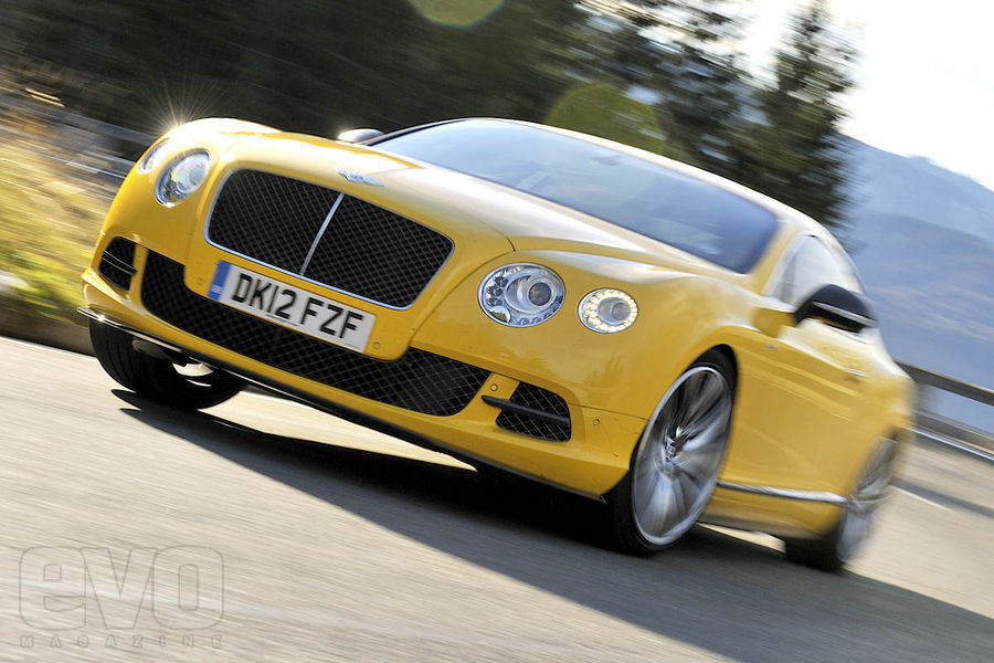 Bentley Continental GT Speed front2