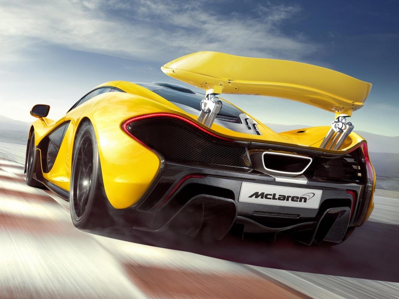 McLaren P1 : images en clair et détails en chiffres - SPEEDFANS