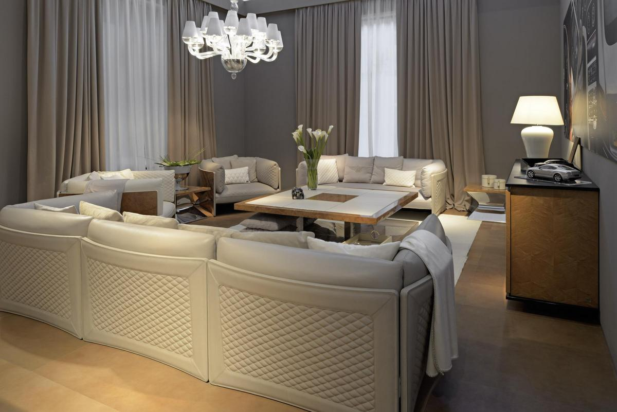 Charles sofa designed by Architect Carlo Colombo 1