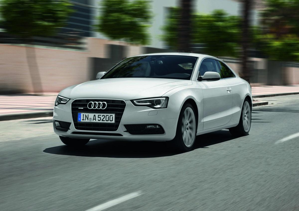 Audi A5/Fahraufnahme