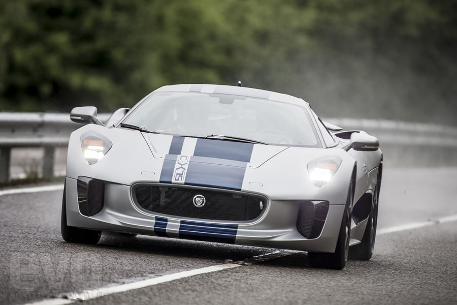 Jaguar C-X75 face