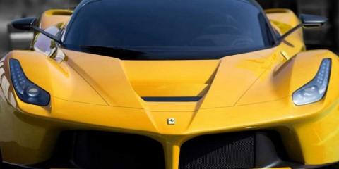 LaFerrari Yellow