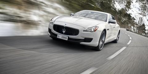 New Maserati Quattroporte S Q4-001 QP Snow
