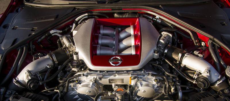 nissan GT-R 2014-moteur