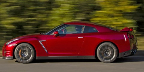 nissan GT-R 2014-route