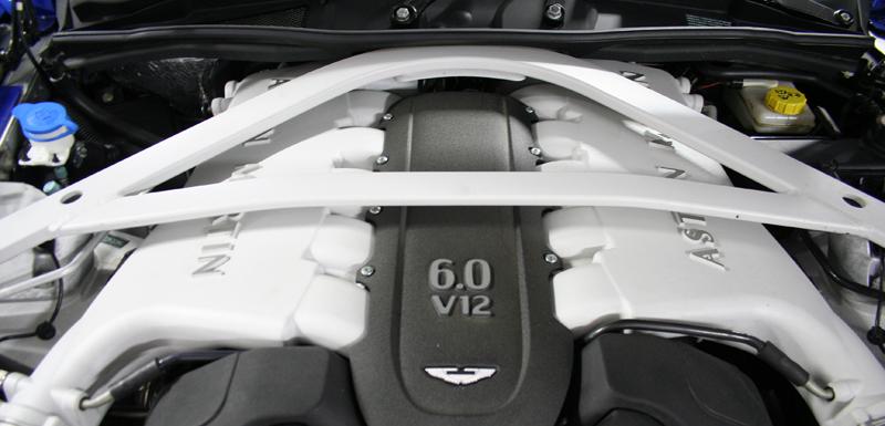 vanquish moteur
