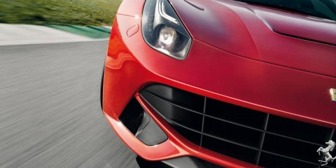 F12berlinetta Active Brake Cooling detail