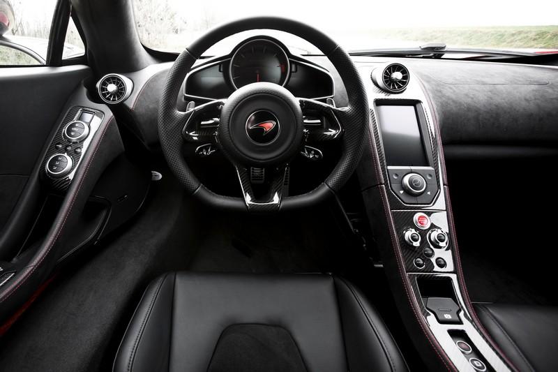 inside McLaren MP4-12C