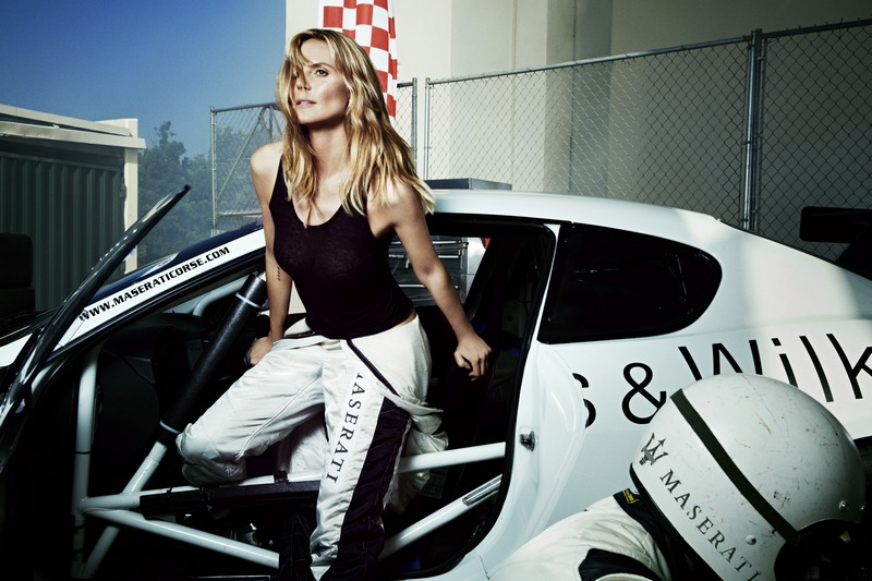 05 Heidi Klum with GranTurismo MC Stradale Trofeo Race car