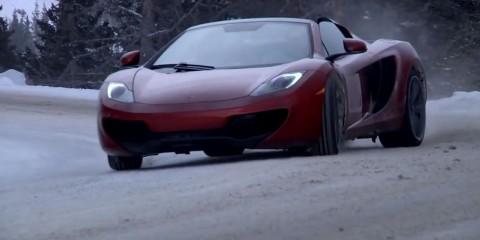 McLaren MP4-12C Snow2
