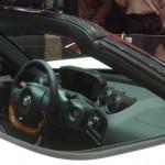 alfa 4C spider cockpit cuir