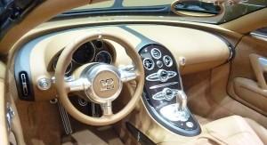 bugatti veyron grand sport vitesse Rembrandt cockpit