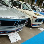 Le museau agressif et caractéristique des BMW 2002 Turbo.