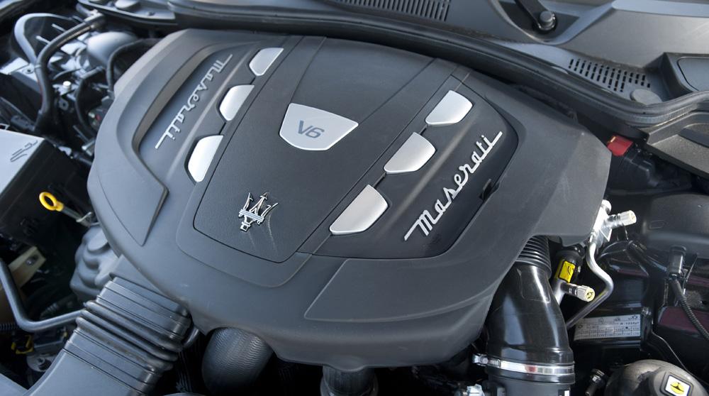 Ghibli Diesel moteur