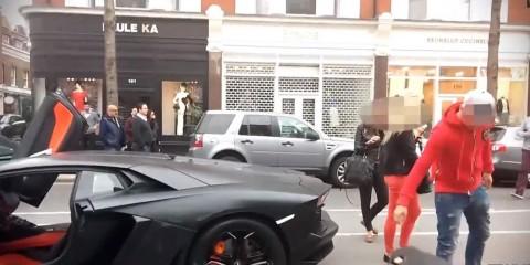 Lamborghini Aventador Crash 2