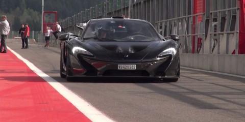 McLaren P1 Spa 2