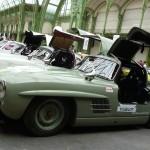 Des Mercedes 300 SL Papillon prêtes à prendre leur envol.