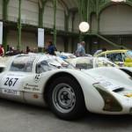 Sportivité et esthétisme pour cette Porsche 906.