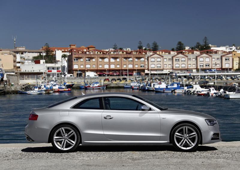 Audi S5/Standaufnahme