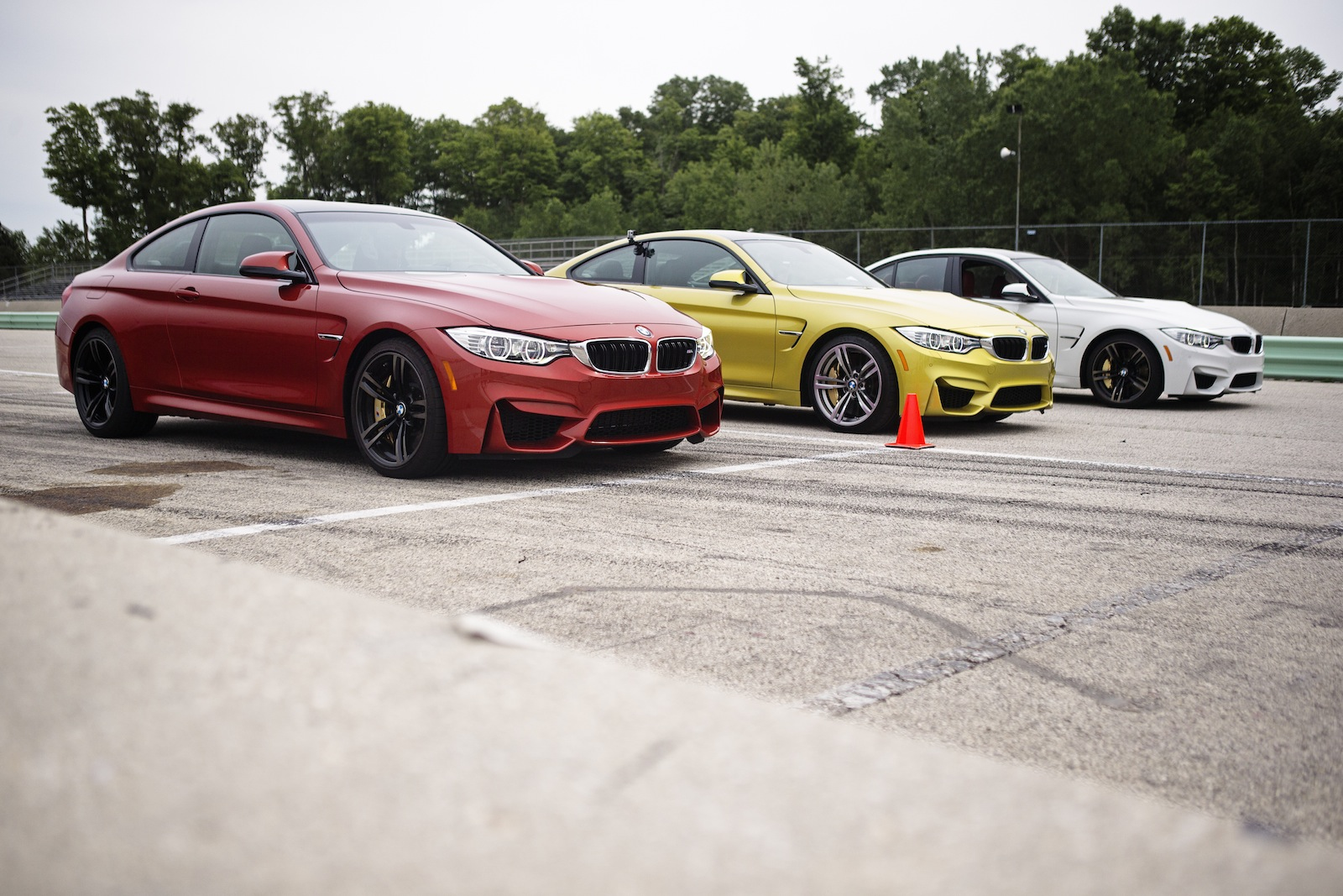 BMW M3 and M4 Press Drive Road America.