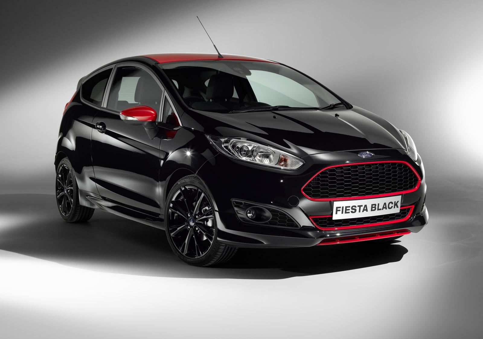 Ford Fiesta Red and Black Editions (2)
