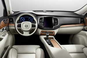 Volvo XC90 onboard
