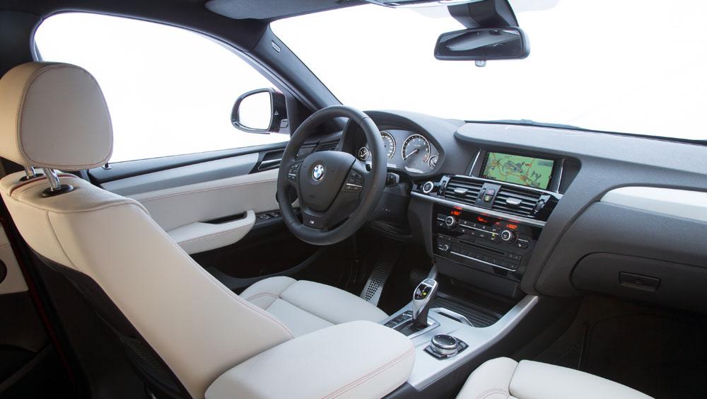 bmw x4 cockpit blanc