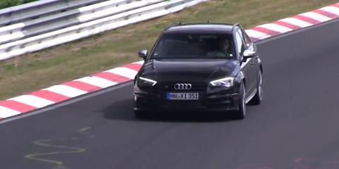 Audi RS3 spyshot (2)