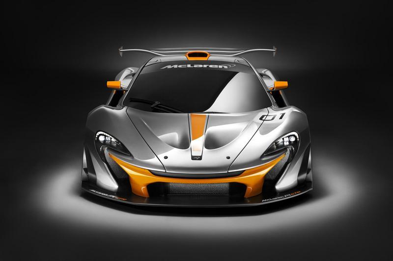 76869-McLaren P1 GTR front