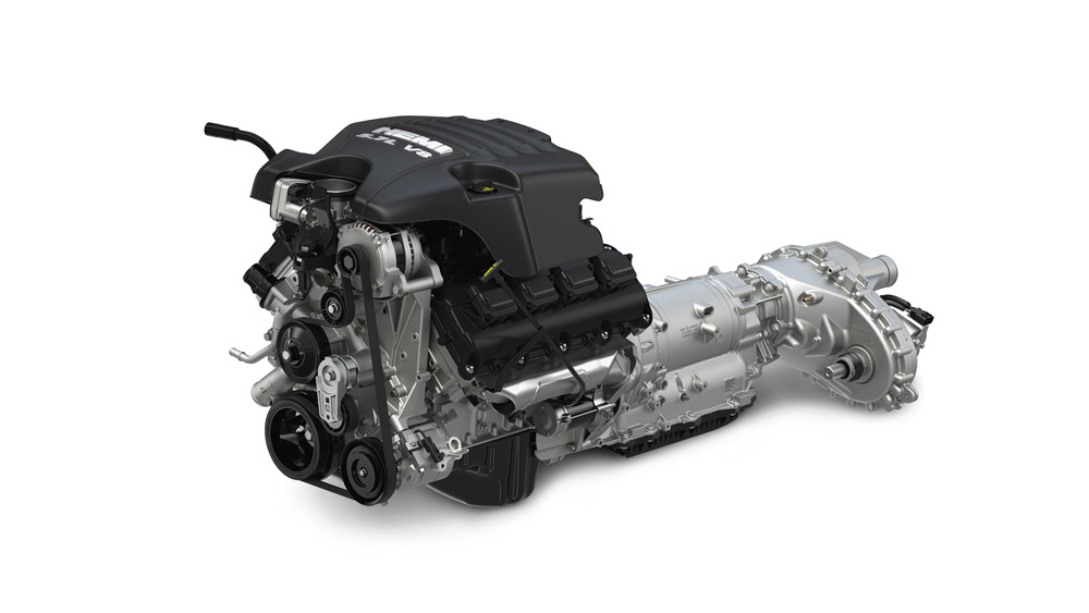 2015 Ram 1500 5.7-liter HEMI V-8 and 8-speed automatic transmiss