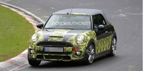 Nouvelle Mini Cooper S en phase de tests.