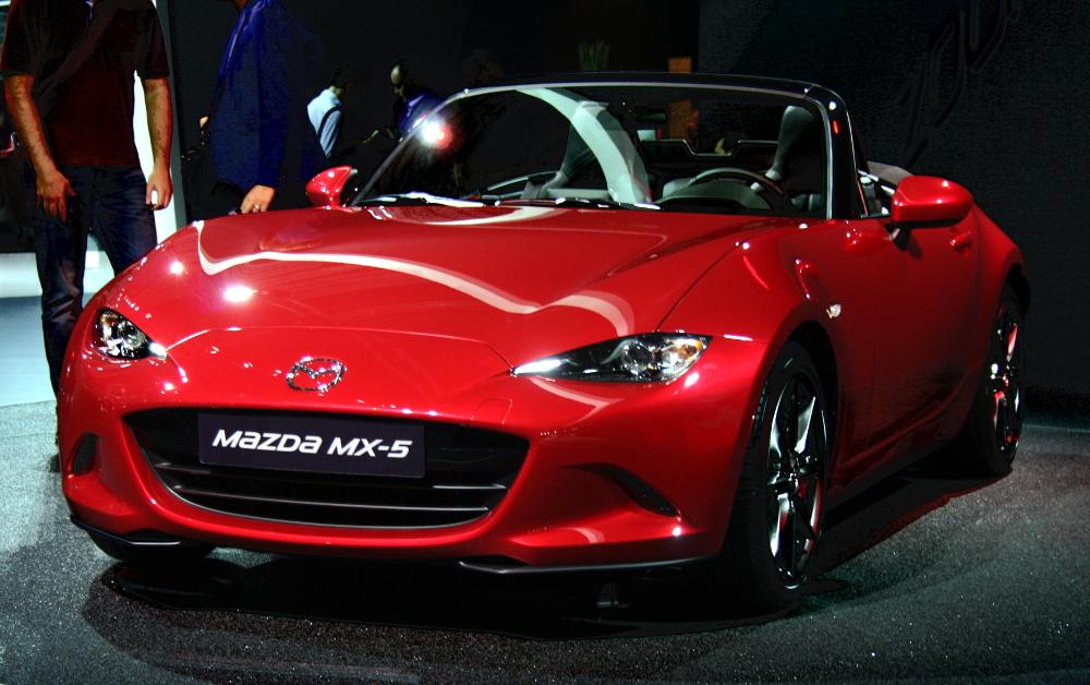 Nouvelle Mazda MX-5