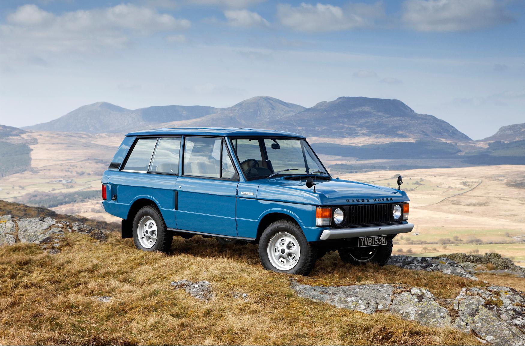 """Le Range peut être considéré comme le premier """"SUV de luxe"""" européen."""